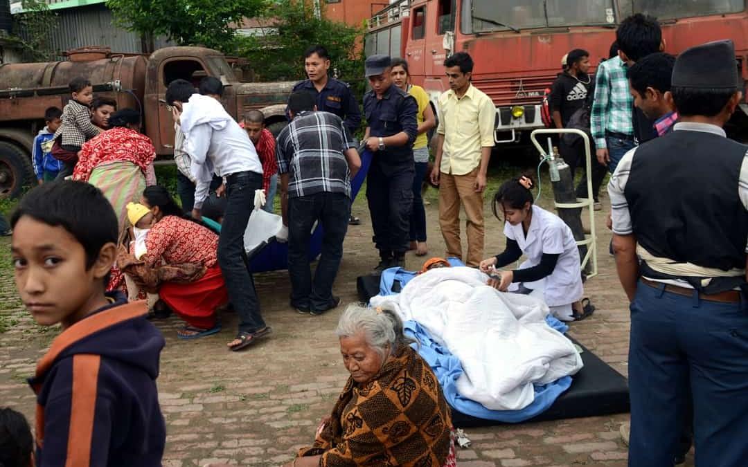 Nepal Earthquake AID Product Sale