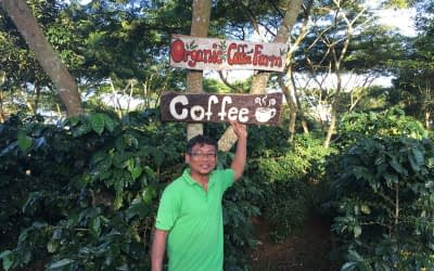 Visited an organic coffee farm in Parkson