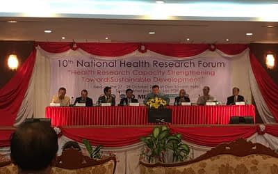 The 10th National Health Research Forum