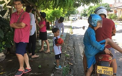 Video shooting started in Vientiane Laos